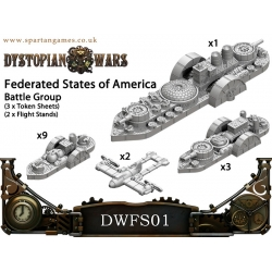 Dystopian Wars: Federated States of America Naval Battle Group