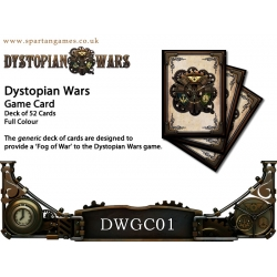 Dystopian Wars: Generic Game Cards