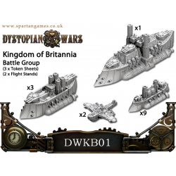 Dystopian Wars: Kingdom of Britannia Naval Battle Group