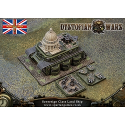 Dystopian Wars: Kingdom of Britannia: Sovereign: Land Ship: DWKB22
