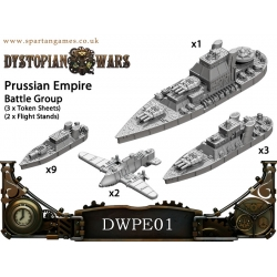 Dystopian Wars: Prussian Empire Naval Battle Group