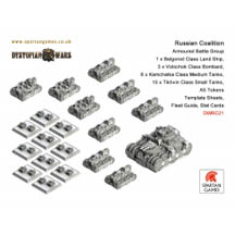 Dystopian Wars: Russian Coalition: Armoured Battle Group: DWRC21