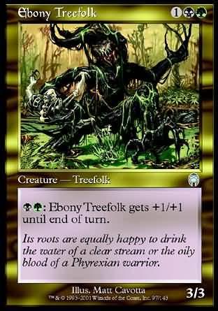 Ebony Treefolk