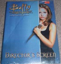Buffy the Vampire Slayer RPG: Directors Screen - Used