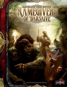 Earthdawn 3rd Ed: Namegivers of Barsaive - Used