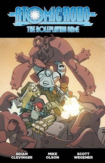 Atomic Robo Role Playing Game - Used
