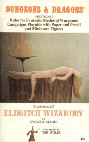 Dungeons and Dragons: Supplement III: Eldritch Wizardry - Used