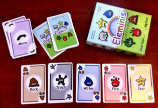 Eleminis Card Game 2nd Edition