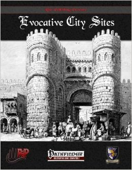 Pathfinder: Evocative City Sites - Used
