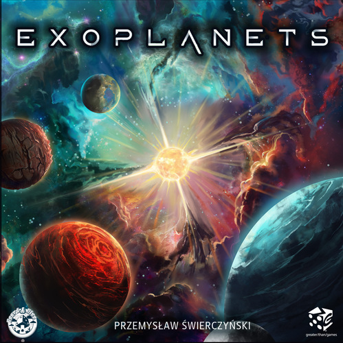Exoplanets Board Game - USED - By Seller No: 211 Jaime Kennedy