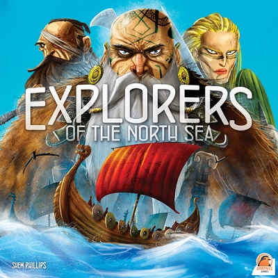 Explorers of the North Sea Board Game - USED - By Seller No: 14789 James Melby