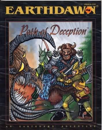 Earthdawn: Path of Deception - Used