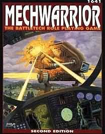 Mechwarrior: The Battletech Role Playing Game (1641) - Used