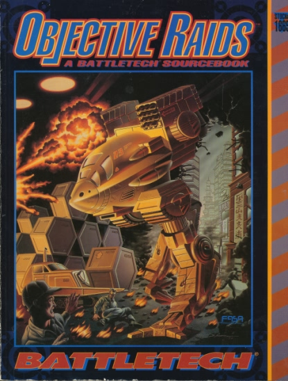 Objective Raids: A Battletech Sourcebook - Used