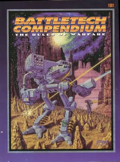 Battletech: Compendium: the Rules of Warfare - Used