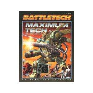 Battletech: Maximum Tech: an Advanced Rulebook - Used