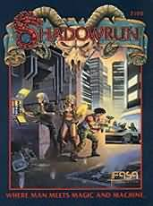 Shadowrun 2nd ed: Where Man Meets Magic and Machine - Used