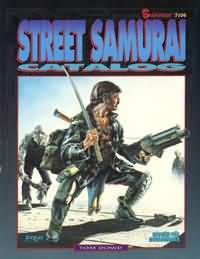 Shadowrun 2nd Ed: Street Samurai  Catalog- Used