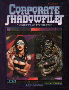 Shadowrun 2nd Ed: Corporate Shadowfiles: 7113 - Used