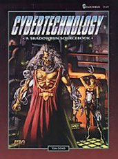Shadowrun 2nd Ed: Cybertechnology - Used