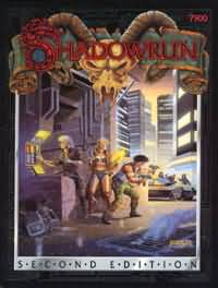 Shadowrun 2nd ed (Hard Cover): 7900 - Used