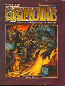 Shadowrun 2nd Ed: The Grimoire: The Manual of Practical Thaumaturgy 15th Edition, 2053: 7903 - Used