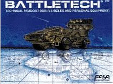 Battletech: Technical Readout 3026: Vehicles and Personal Equipment) - Used