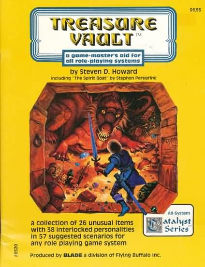 Treasure Vault - Used