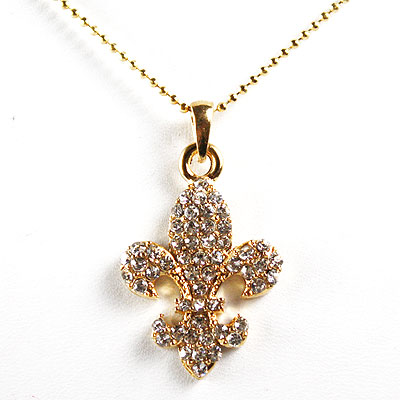 Gold Clear Necklace