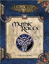 D20: Legends and Lairs: Mythic Races - Used