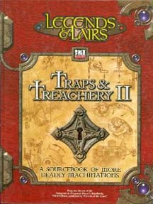 D20: Legends and Lairs: Traps and Treachery II - Used