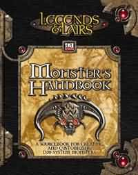 Legends and Lairs: d20: Monsters Handbook - Used