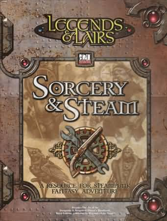 D20: Legends and Lairs: Sorcery and Steam HC - USED