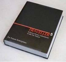 Traveller 5 Core Rules Hard Cover