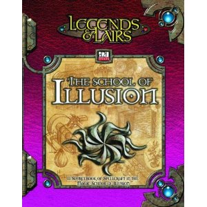D20: Legends and Lairs: School of Illusion - Used