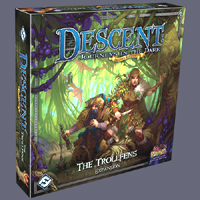 Descent: Journeys in the Dark 2nd ed: The Trollfens Expansion