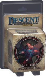 Descent: Journeys in the Dark 2nd ed: Belthir Lieutenant Miniature