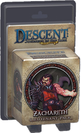 Descent: Journeys in the Dark 2nd ed: Zachareth Lieutenant Miniature