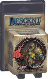 Descent: Journeys in the Dark 2nd ed: Alric Farrow Lieutenant Miniature