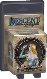 Descent: Journeys in the Dark 2nd ed: Eliza Farrow Lieutenant Miniature