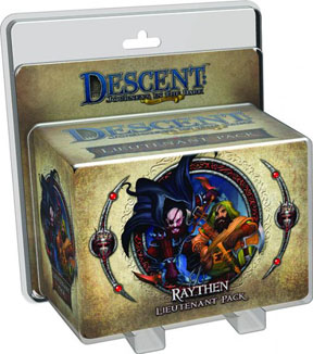 Descent: Journeys in the Dark 2nd ed: Raythen Lieutenant Pack