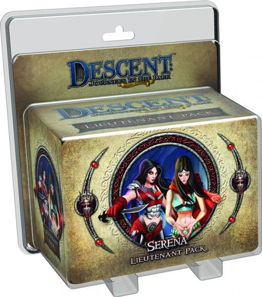 Descent: Journeys in the Dark 2nd ed: Serena Lieutenant Pack
