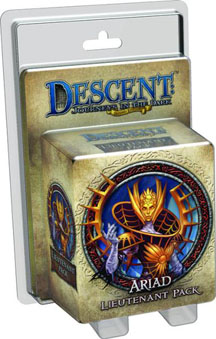 Descent: Journeys in the Dark 2nd ed: Ariad Lieutenant Pack