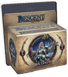 Descent: Journeys in the Dark 2nd ed: Bol Goreth the Troll Lieutenant Miniature