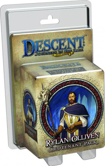 Descent: Journeys in the Dark 2nd ed: Rylan Olliven Lieutenant Mini
