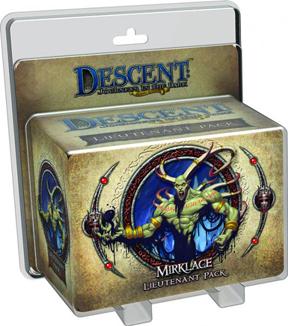 Descent: Journeys in the Dark 2nd ed: Gargan Mirklace Lieutenant Pack