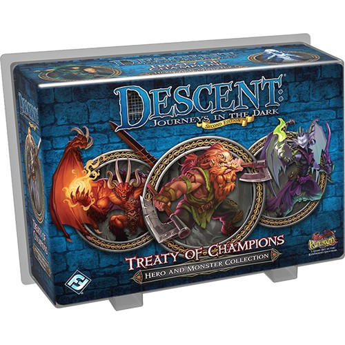 Descent: Journeys in the Dark 2nd ed: Treaty of Champions Pack