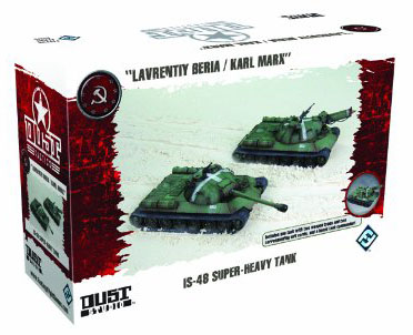 Dust Tactics: IS-48 Super Heavy Tank