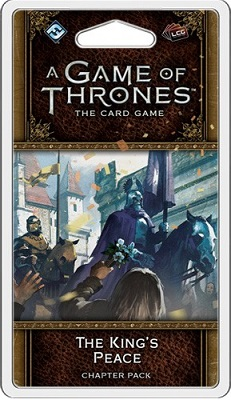 A Game of Thrones the Card Game: The Kings Peace Chapter Pack (2nd Edition)