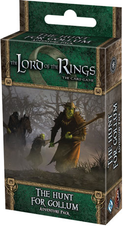 The Lord of the Rings the Card Game: Hunt for Gollum Adventure Pack